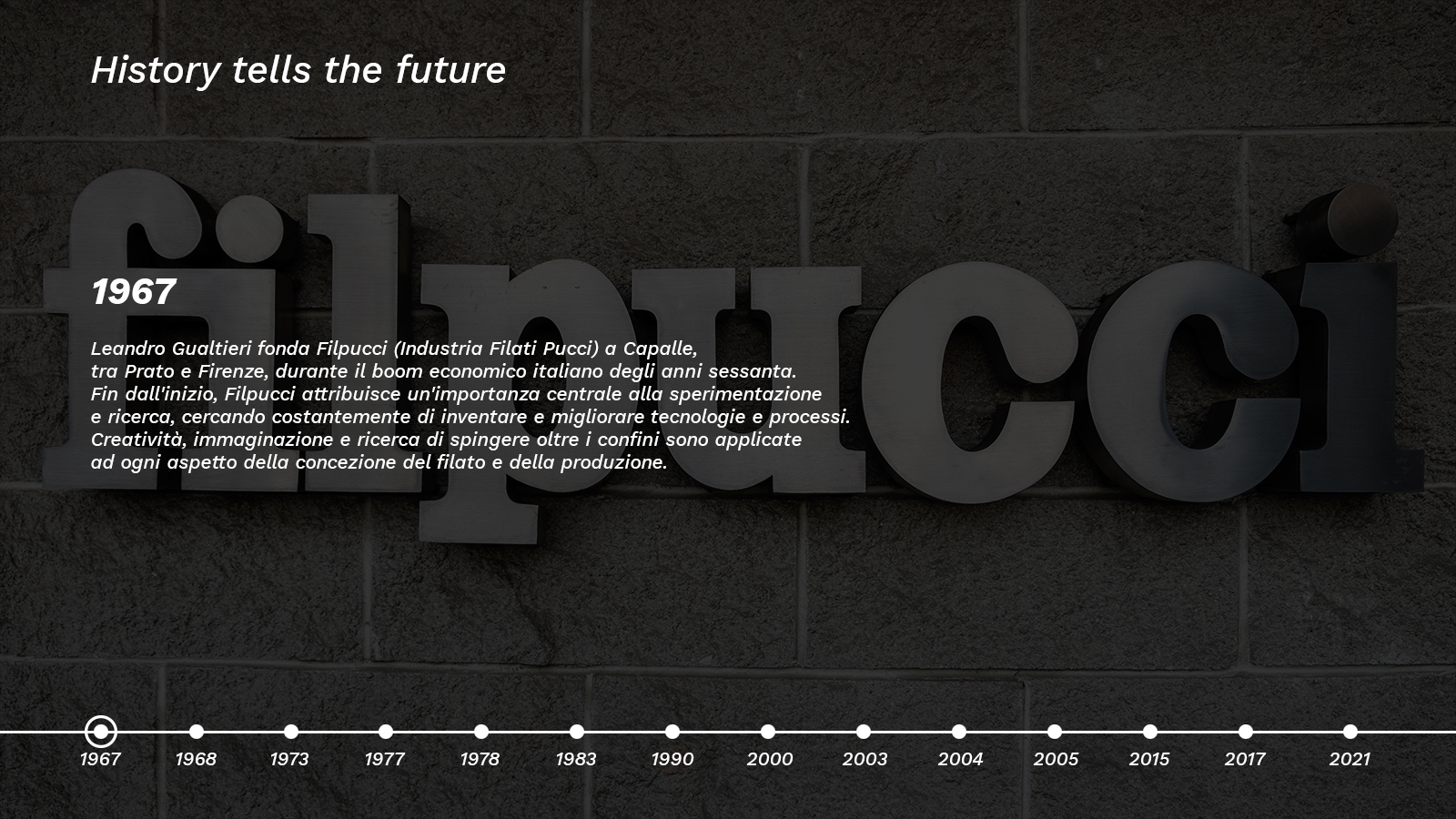 1967 Filpucci Hystory 1600x900